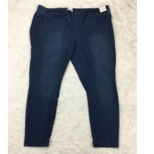 Simply Emma Pull On Jeans Stretch Elastic